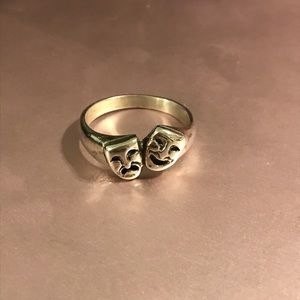 Very Rare Drama Masks/Theatre James Avery Ring